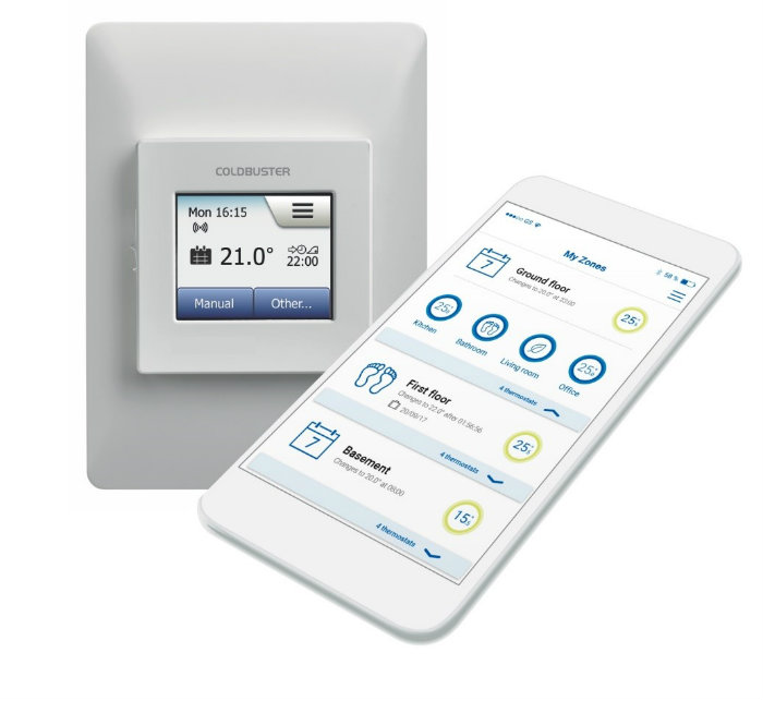 Why Coldbuster's OJ Microline WiFi Thermostat Is A Smart Choice